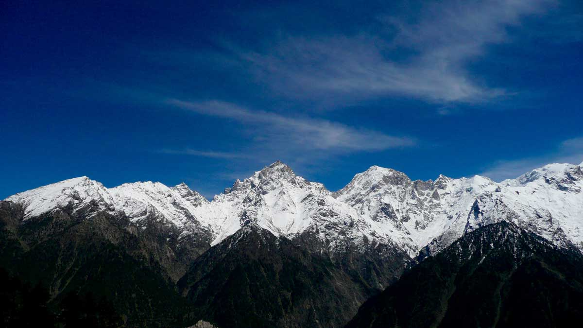 Kinnaur Kailash Mountain