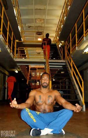 Meditating in Prison