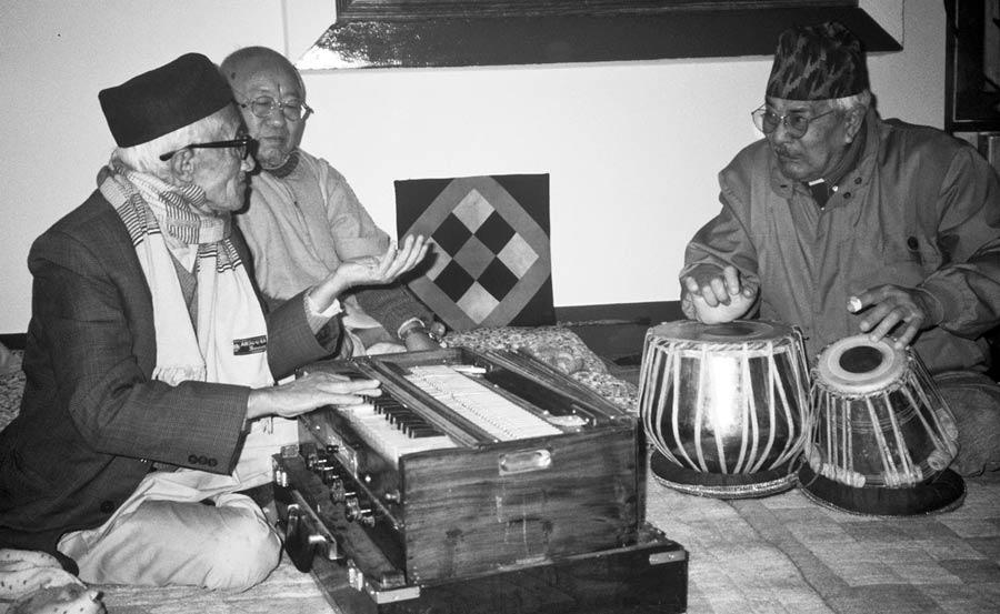 Pandit Nataraj and Shambu Prasad Mishra