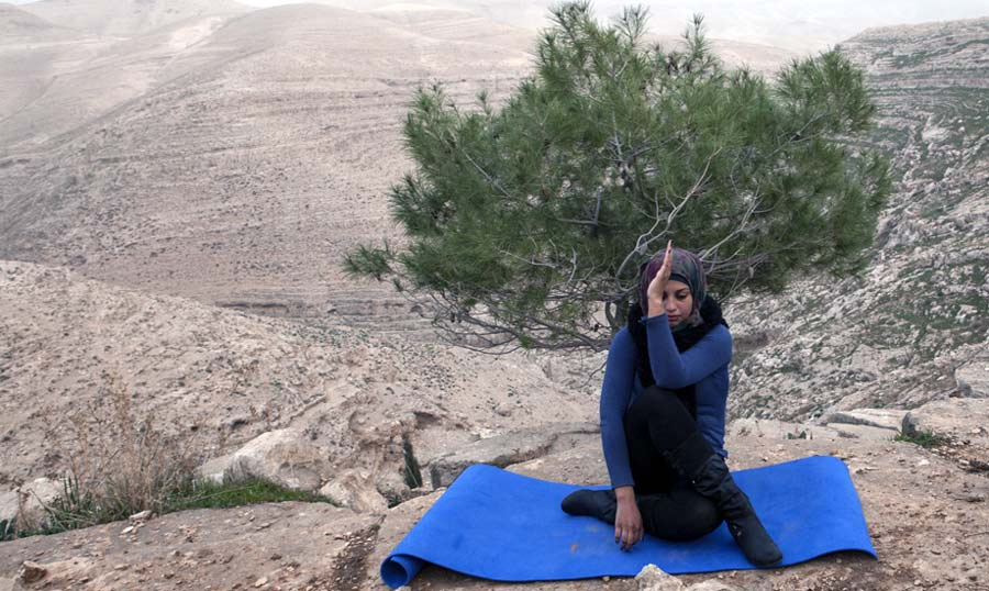 Yoga in Palestine