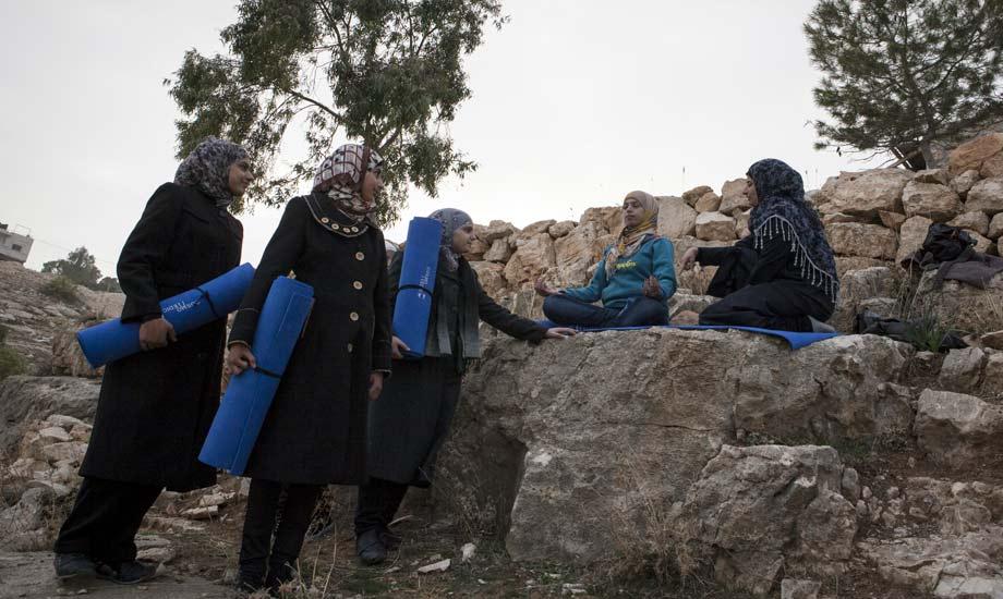 Yoga in Palestine