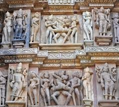 Khajuraho Temple Carvings