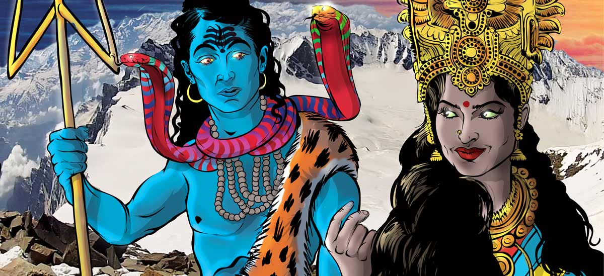 Priya Shakti - Shiva and Paravati