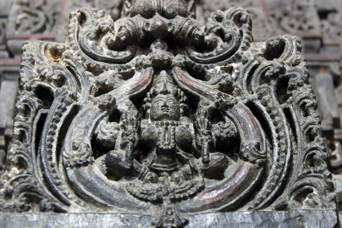 Temple Carving of Devi