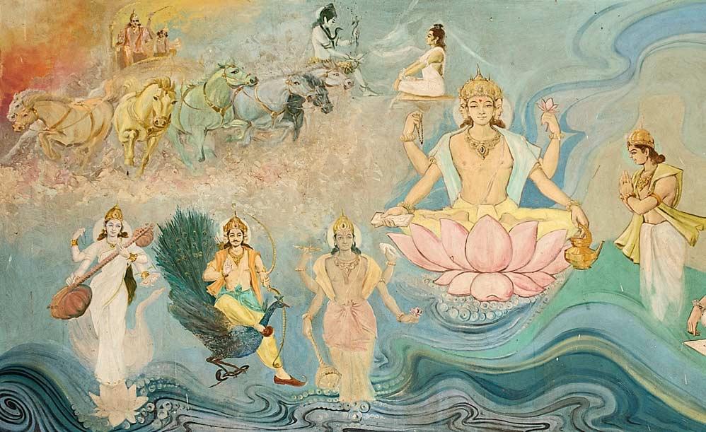 Ayurveda Mural