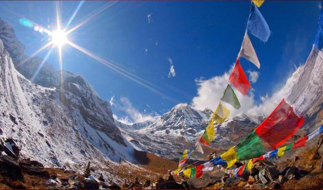 Nepalise Himalayan Mountains