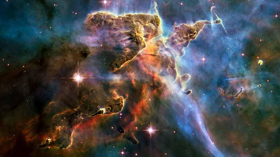 Carina Nebula Hubble telescope image