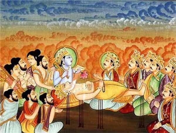 yudhisthira bhisma
