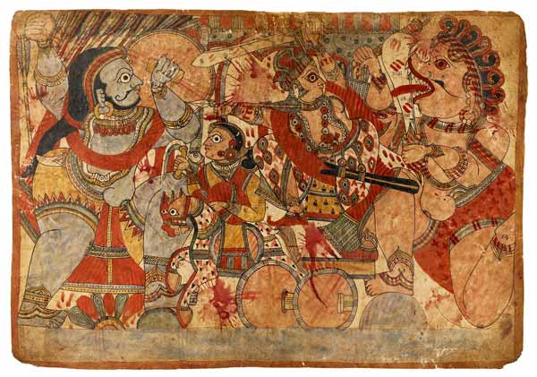 shyamakarna Babhruvahana Arjuna