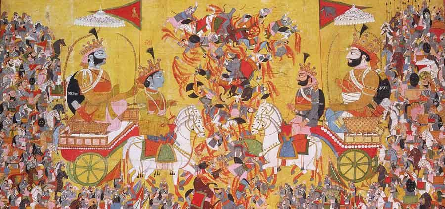 Krishna Arjuna Karna