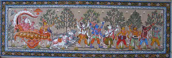 chitra painting hindu gods