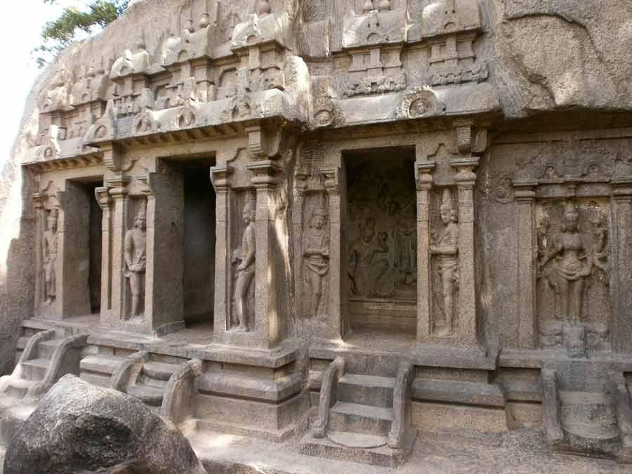 Tirumurthi Caves Mahabalipuarm Chennai