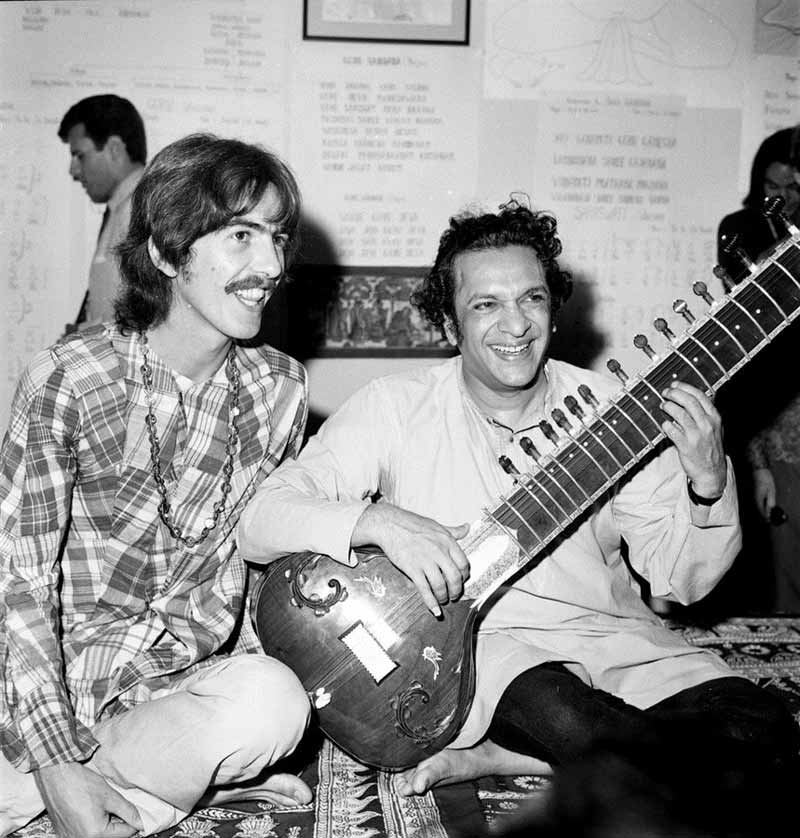 ravi shankar and george harrison relationship