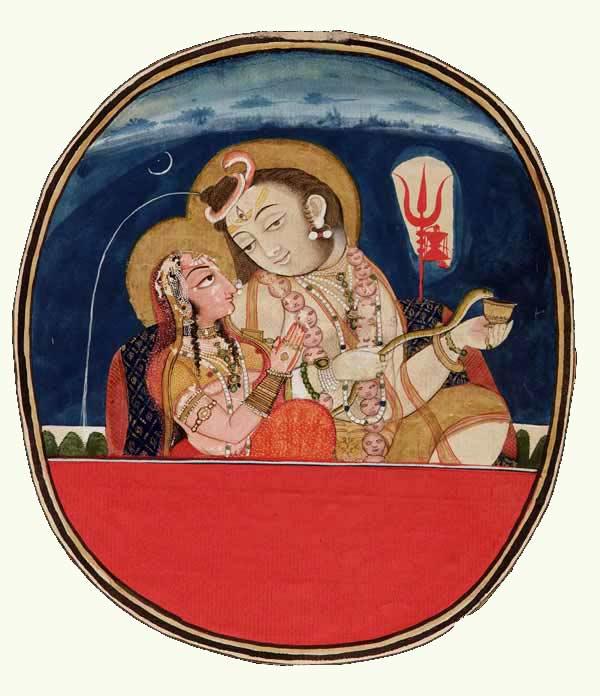 Shiva and Paravati