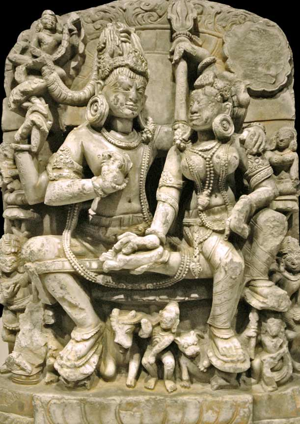 Shiva and Parvati,The National Museum of Oriental Art