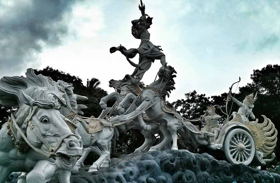 Bali chariot of Gita