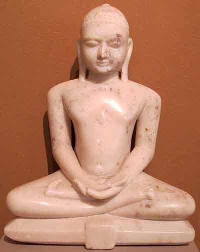 Tirthankar sitting