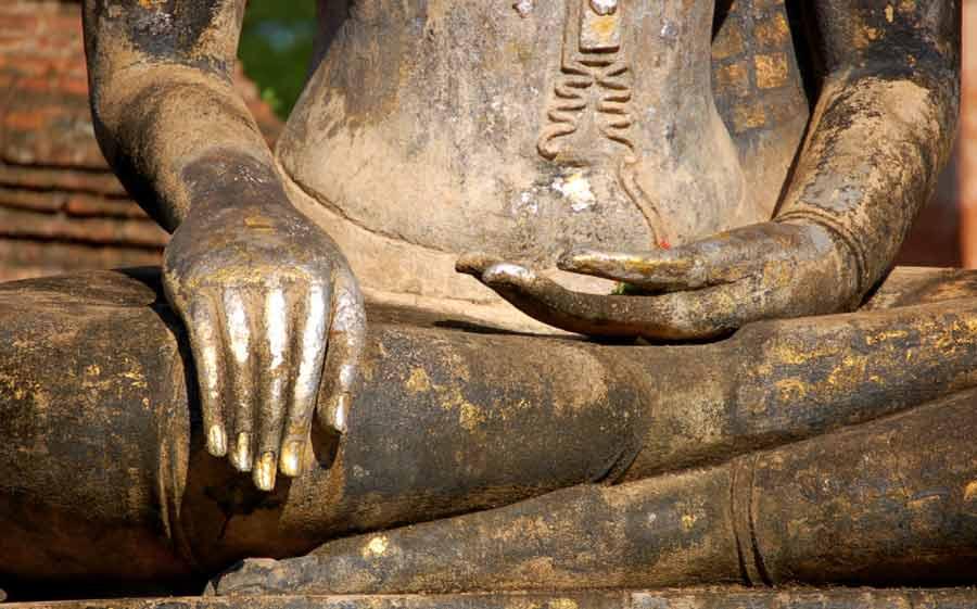 Buddha Bhumisparsha mudra