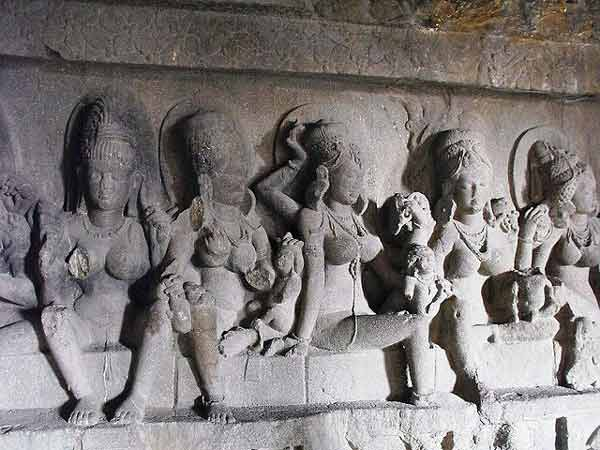 Ellora caves Matrikas