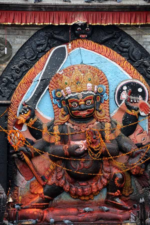 Kala Bhairav, Kathmandu, Nepal