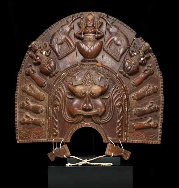 Mask Representing Thira Kali