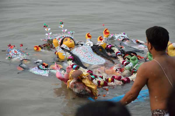 Durga immersion