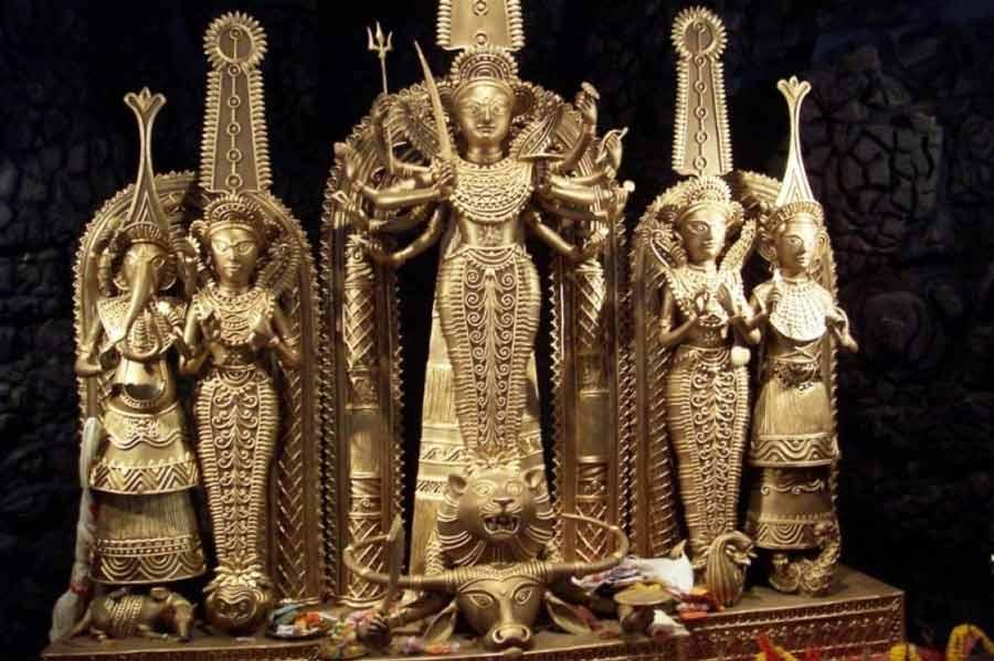Durga Dhokra art